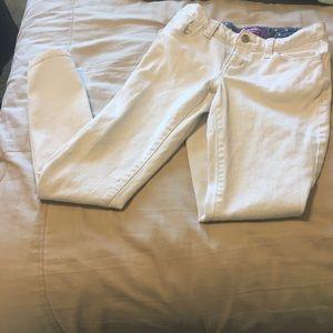 Old Navy Boyfriend Skinny jeans girls size 8 white